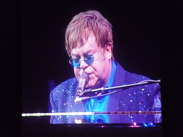 Elton John. Photo taken by Steve Yanko.