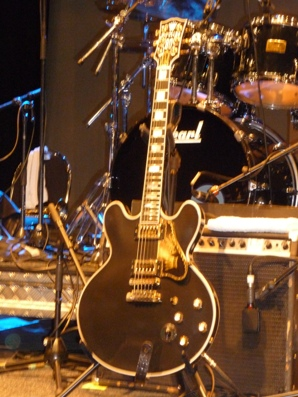 BB King's famous guitar, Lucille. Photo taken by Steve Yanko.