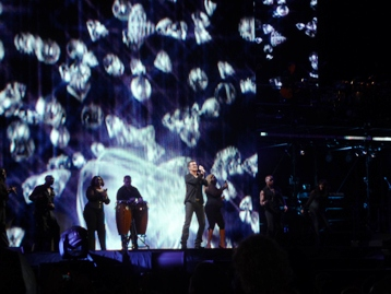 George Michael performing in Melbourne, Australia March 3rd 2010. Photo by Steve Yanko
