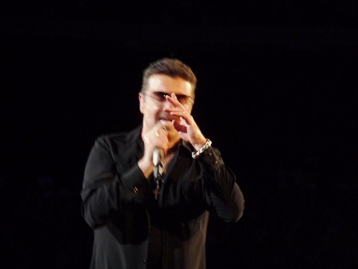 George Michael. The master songwriter. Melbourne, Australia. Photo taken by Steve Yanko.